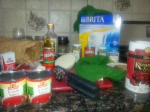Gravy-making and the Brita
