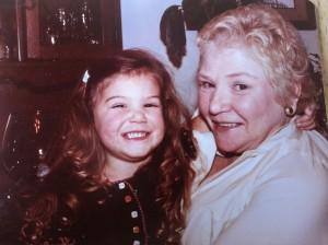 Me and Grandmom D.
