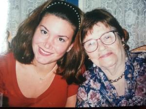 Me and Grandmom C.