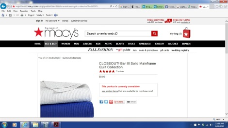 Macys quilt screenshot